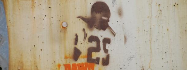 Browns Stencil