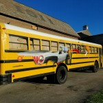 Graffiti HeArt School Bus