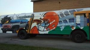 Graffiti HeArt School Bus