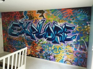 Graffiti HeArt Bedroom Project