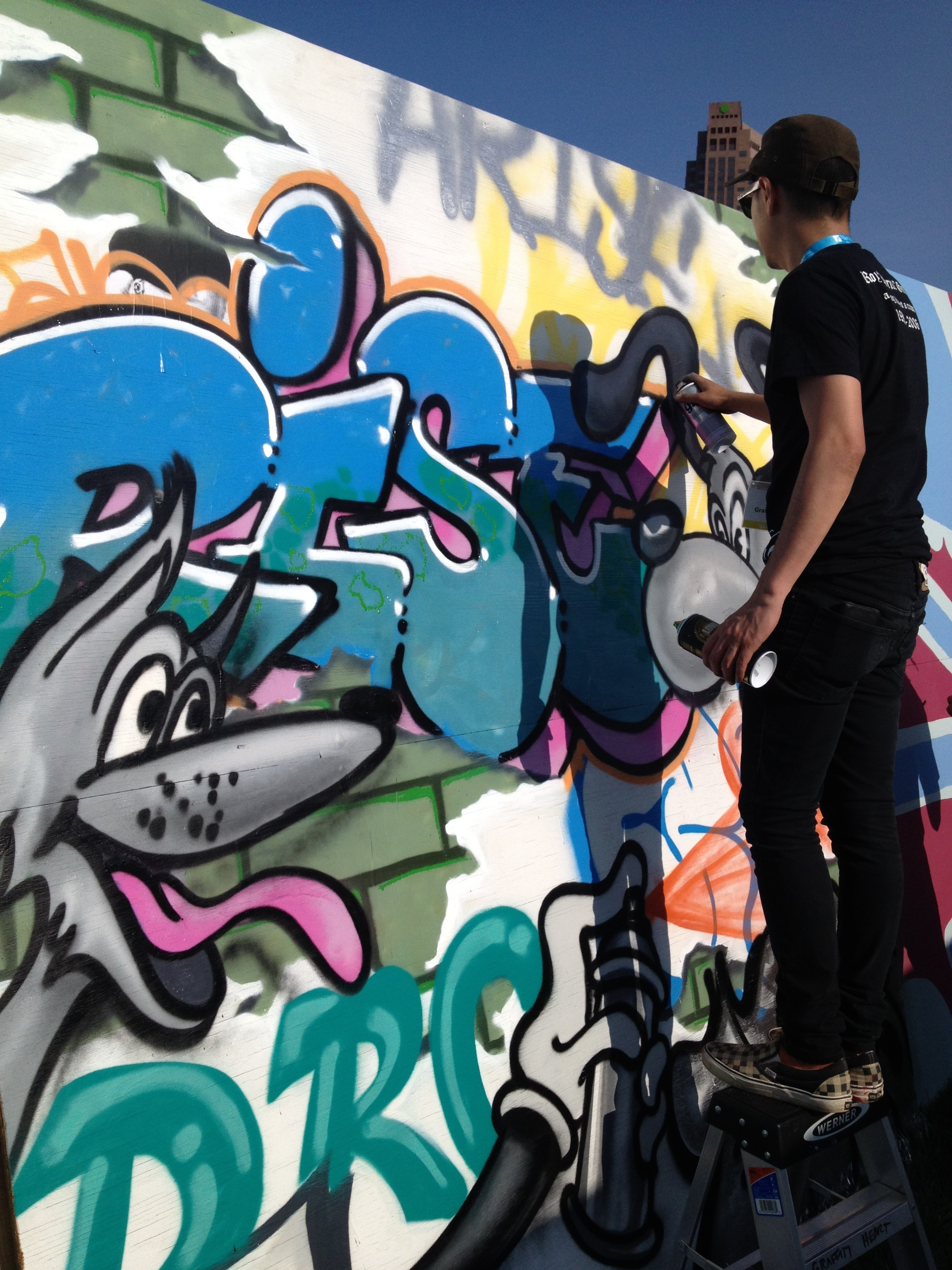 Graffiti art meaning - Gay Games 9