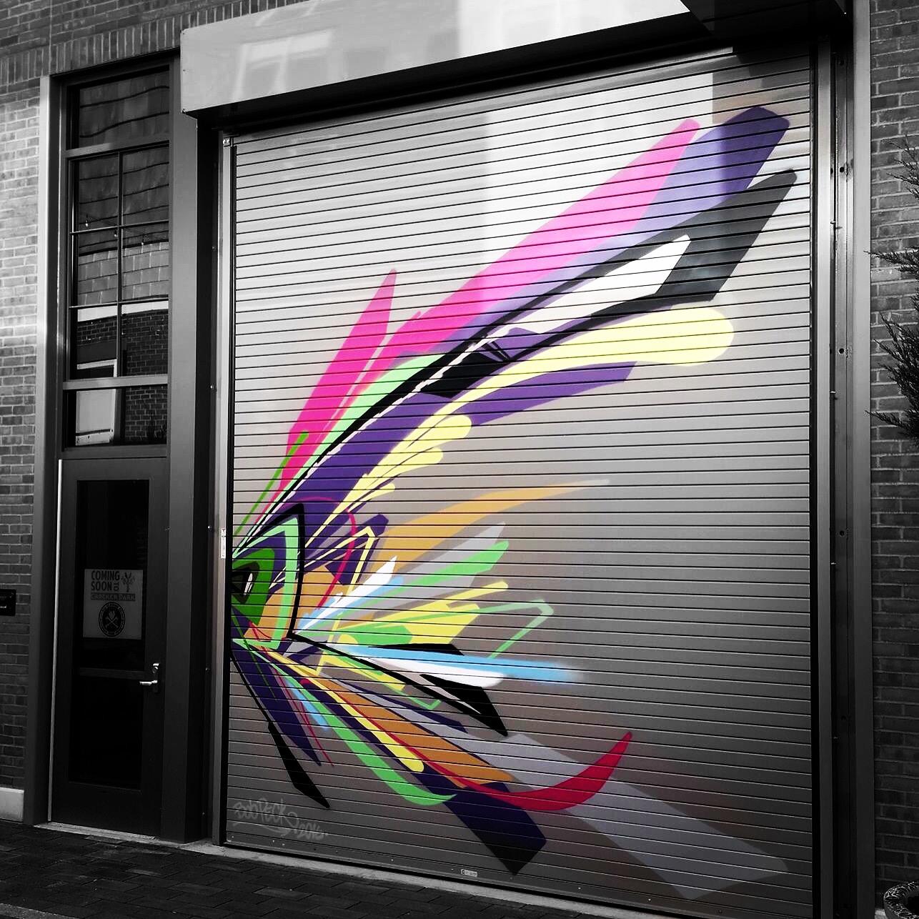 graffiti heart gives suburbs street cred graffiti heart. Black Bedroom Furniture Sets. Home Design Ideas