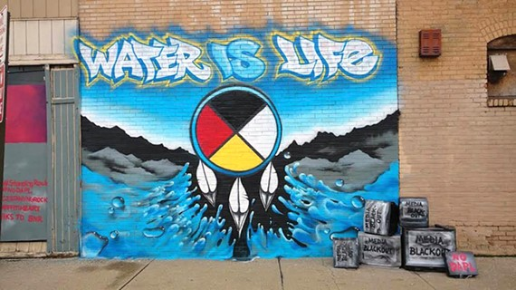 Dc artist collective stop in cleveland to paint waterislifemural josh shared the following quote from stamy paul of graffiti heart in the articlei felt it was a perfect fit to what graffiti heart is about altavistaventures Image collections