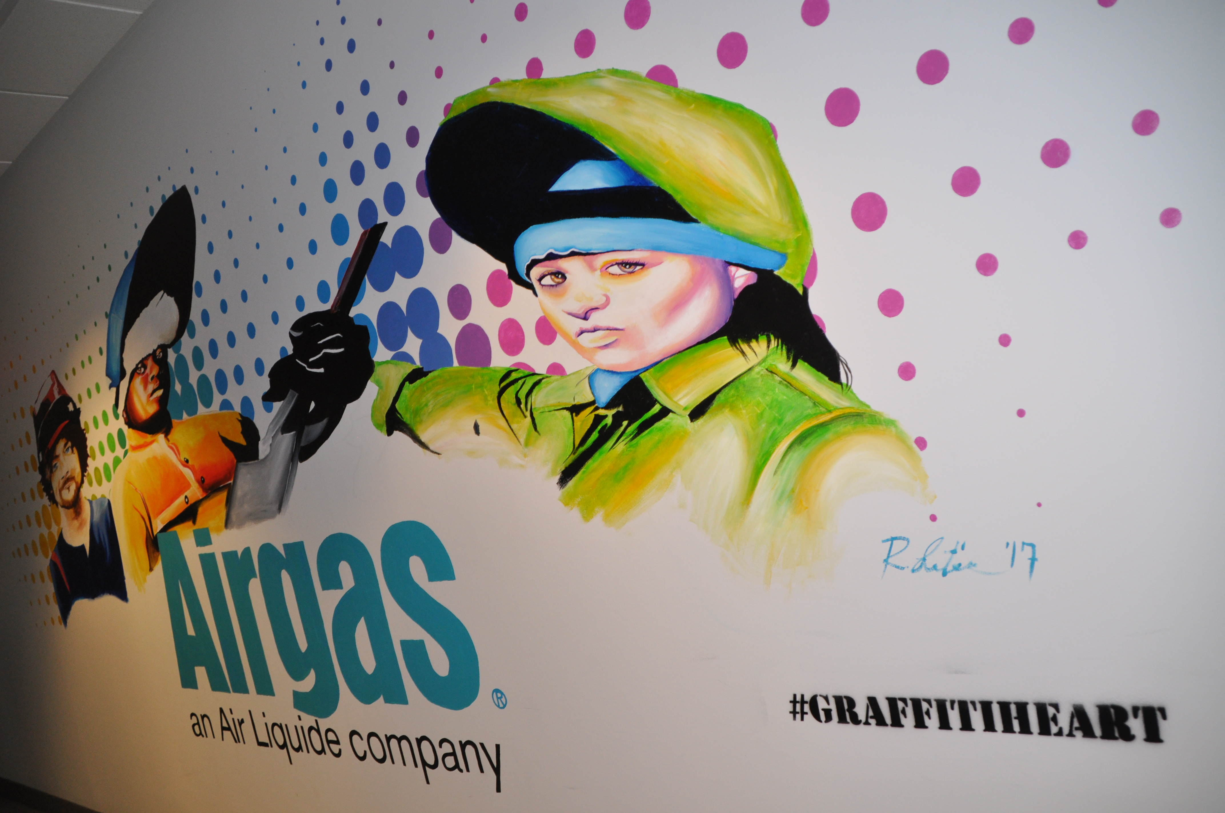 graffiti heart wall street projects invade major corporations