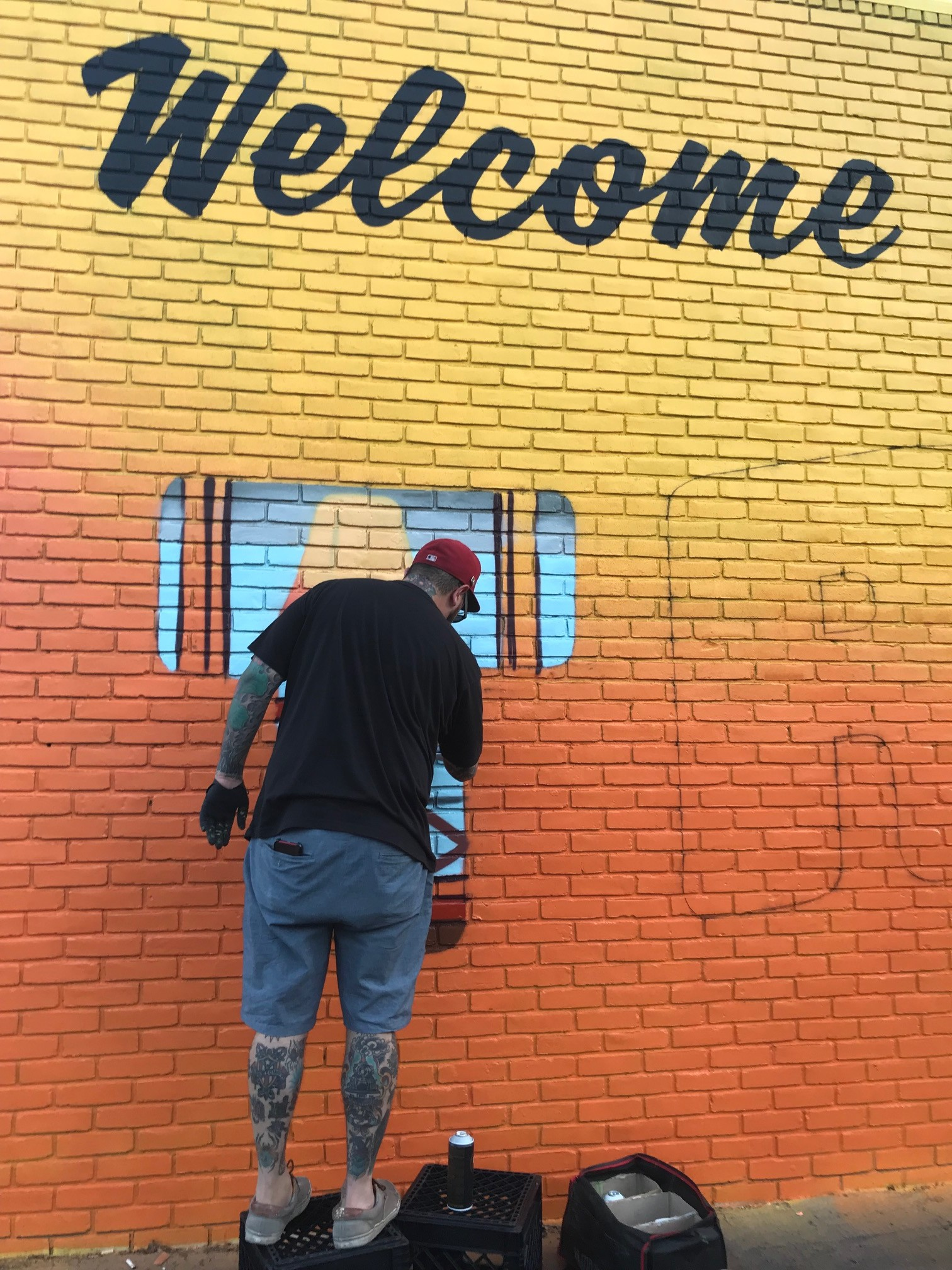 """Graffiti HeArt Invades Tremont with """"Welcome to Tremont"""" Public ..."""